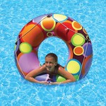 Poolmaster® Bright Color Circles Tube - view number 1