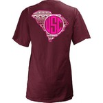 Three Squared Juniors' University of South Carolina Moonface Vee T-shirt