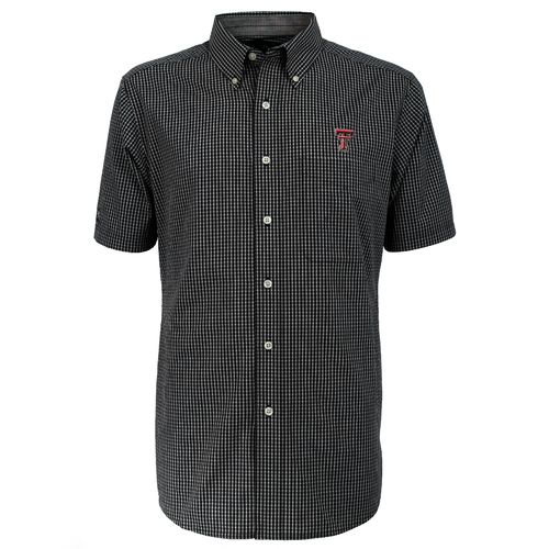 Antigua Men's Texas Tech University League Dress Shirt
