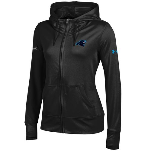Under Armour™ NFL Combine Authentic Women's Carolina Panthers Terry Full Zip Jacket
