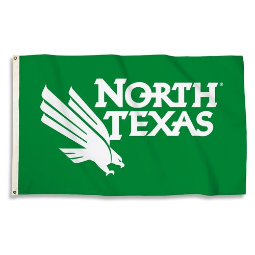 BSI University of North Texas 3'H x 5'W Flag - view number 1