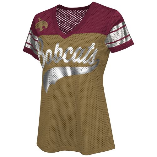 G-III for Her Women's Texas State University Pass Rush Fashion Top