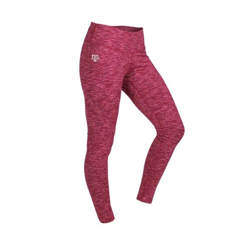 ZooZatz Women's Texas A&M University Space Dye Legging