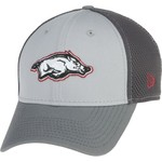 New Era Men's University of Arkansas Grayed Out Neo 39THIRTY Cap