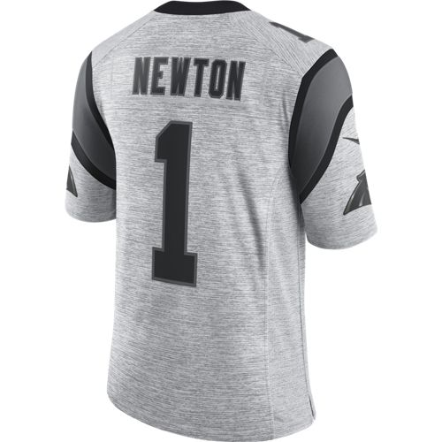 Nike Men's Carolina Panthers Cam Newton 1 Gridiron 2 Jersey