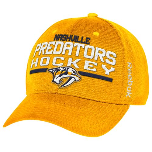 Reebok Men's Nashville Predators Locker Room Structured Flex Cap