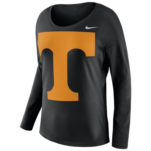 Nike™ Women's University of Tennessee Tailgate Long Sleeve Stadium Top