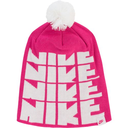 Nike™ Girls' Futura Pom Knit Hat
