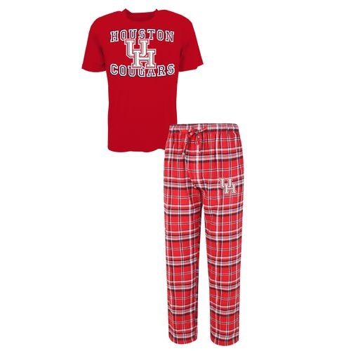 Concepts Sport™ Men's University of Houston Tiebreaker Shirt and Pant Set
