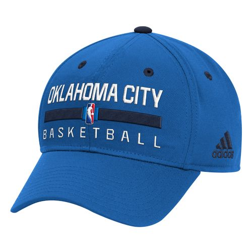 adidas™ Men's Oklahoma City Thunder Practice Structured Flex Cap