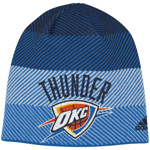 adidas™ Men's Oklahoma City Thunder Cuffless Logo Beanie