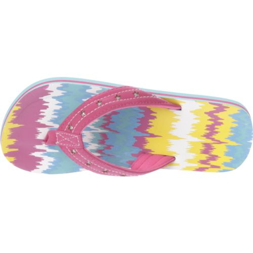 O'Rageous Girls' Wave Flip-Flops - view number 4