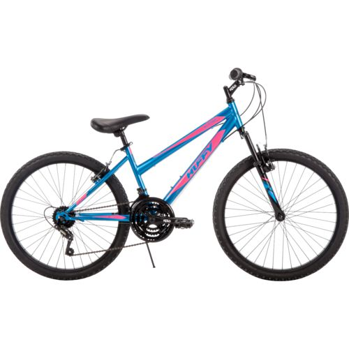 Huffy Girls' Alpine 24 in 18-Speed Mountain Bike