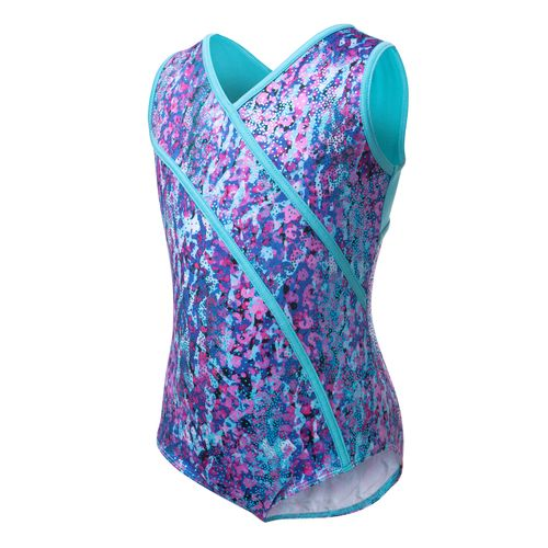 Capezio® Girls' Future Star Electric Jungle Printed Leotard