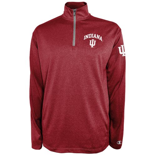 Champion™ Men's Indiana University Victory 1/4 Zip Pullover - view number 1