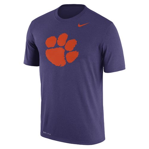 Nike Men's Clemson University Dri-FIT Legend Logo Short Sleeve T-shirt