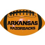 GameMaster University of Arkansas Neon Mini Rubber Football - view number 2