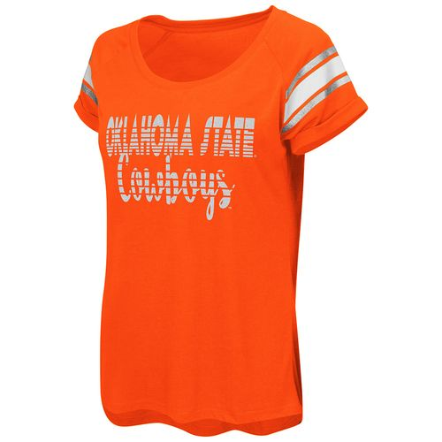 Colosseum Athletics™ Women's Oklahoma State University Karate Cuffed Raglan T-shirt - view number 1