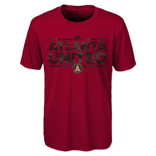 adidas Boys' Atlanta United FC climalite Ultimate Dassler Tactical T-shirt - view number 1
