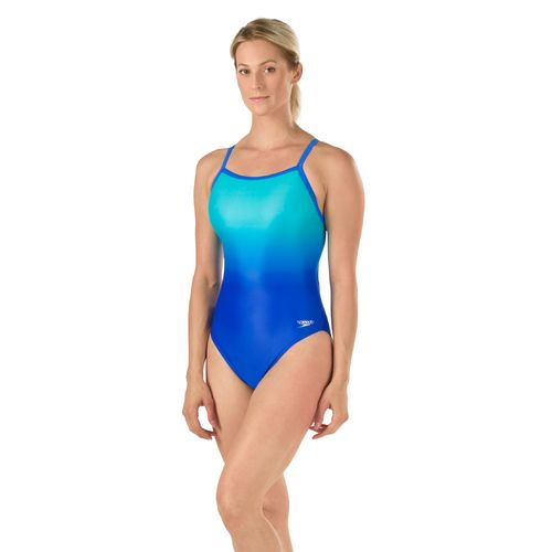 Speedo Women's Fragments Drill Back Competitive Swimsuit