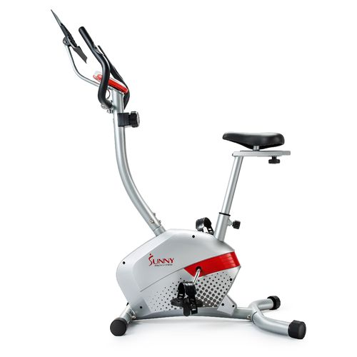 Sunny Health & Fitness Magnetic Upright Exercise Bike