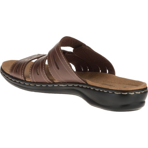 Clarks® Women's 3-Strap Adjustable Sandals - view number 3