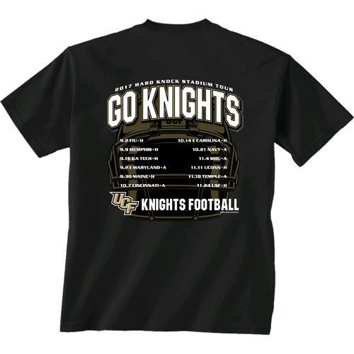 New World Graphics Men's University of Central Florida Football Schedule '17 T-shirt
