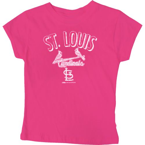 Stitches Girls' St. Louis Cardinals City Arch T-shirt