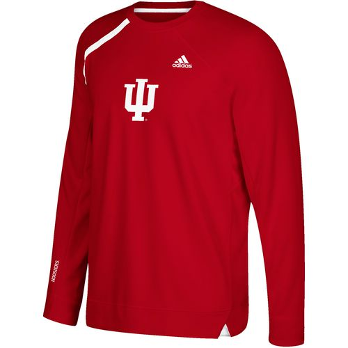 adidas Men's Indiana University Shooting Long Sleeve Basketball T-shirt
