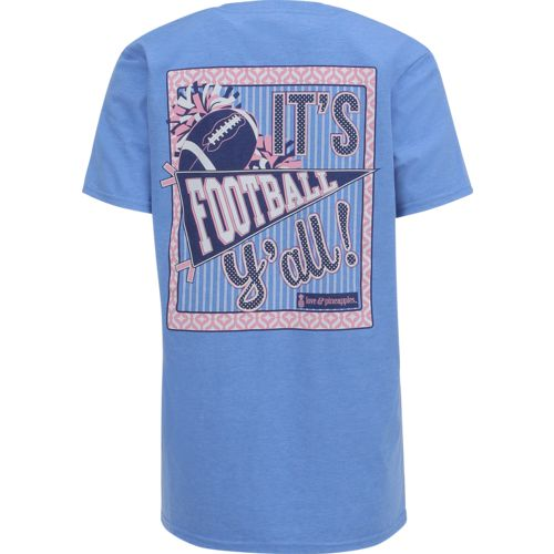 Love & Pineapples Women's It's Football Y'all T-shirt - view number 1