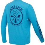 Salt Life Men's Salt Fix Performance Long Sleeve T-shirt - view number 2