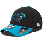 New Era Boys' Carolina Panthers Team Classic 39THIRTY Cap - view number 1