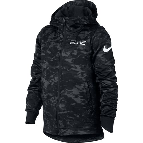 Nike Boys' Therma Elite Basketball Full Zip Hoodie