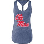 Chicka-d Women's University of Mississippi Braided Tank Top - view number 1