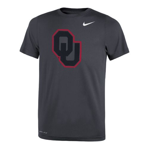 Nike™ Boys' University of Oklahoma Legend Travel T-shirt