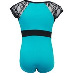 Capezio Girls' Future Star Short Sleeve Lace Leotard - view number 2