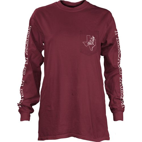 Three Squared Juniors' Texas A&M University Mystic Long Sleeve T-shirt