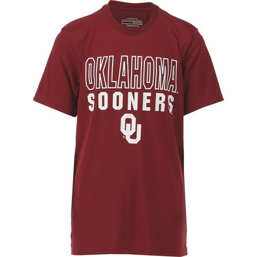 Colosseum Athletics Boys' University of Oklahoma Team Mascot T-shirt