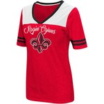 Colosseum Athletics Women's University of Louisiana at Lafayette Twist 2.1 V-Neck T-shirt - view number 1