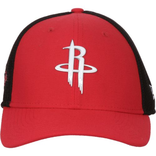 New Era Men's Houston Rockets On Court 2-Tone 39THIRTY Cap