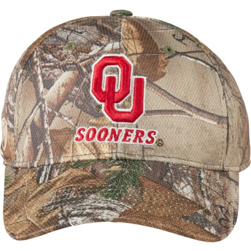 Top of the World Men's University of Oklahoma Realtree Xtra Cap