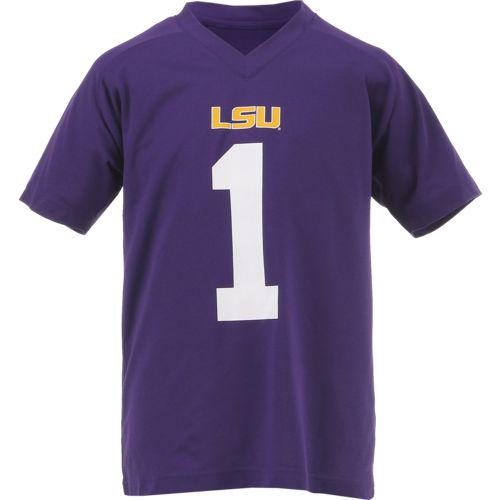 Gen2 Boys' Louisiana State University Football Jersey Performance T-shirt
