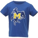 Gen2 Toddlers' McNeese State University Primary Logo Short Sleeve T-shirt - view number 1