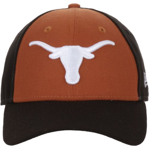 New Era Men's University of Texas 9FORTY The League Blocked Cap