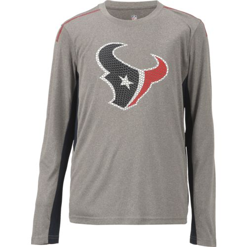 NFL Boys' Houston Texans Mainframe Performance T-shirt