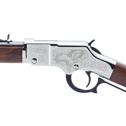Henry Golden Boy Silver Eagle 2nd Edition .22 LR/Long/Short Lever-Action Rifle - view number 1