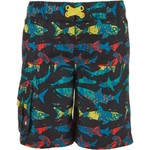 O'Rageous Boys' Palm Shark Printed Boardshorts - view number 3