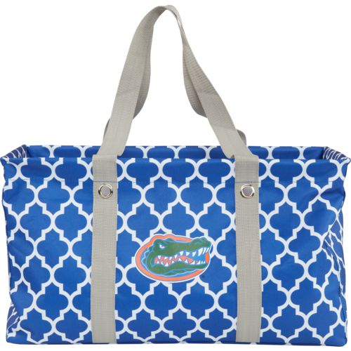Logo University of Florida Quatrefoil Picnic Caddy