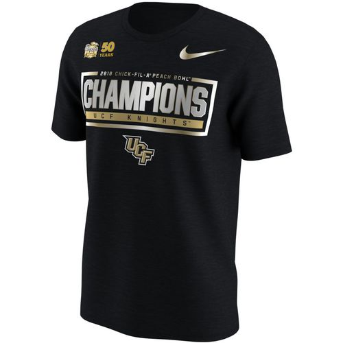 Nike Men's University of Central Florida Peach Bowl Champions T-shirt
