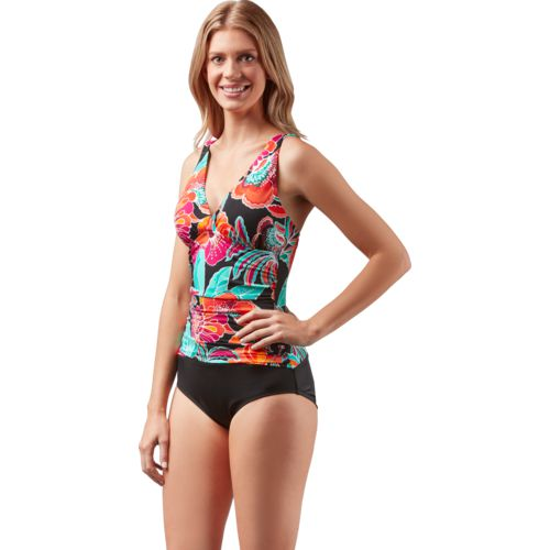 Jantzen Women's C/D-Cup Over-the-Shoulder 1-Piece Swimsuit